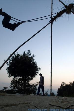 Balançoire en bambou Nepal