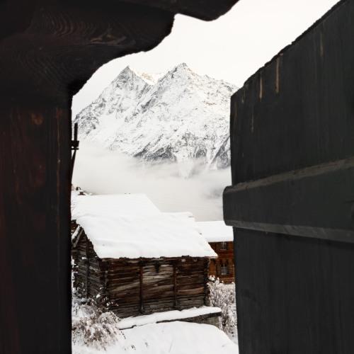 haiku neige evolene hiver villaz la sage